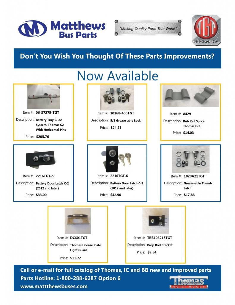 Parts TGT Sale