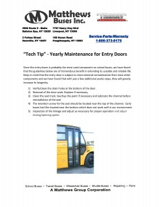 Tech Tip - Entry Door Maintenance-page-001