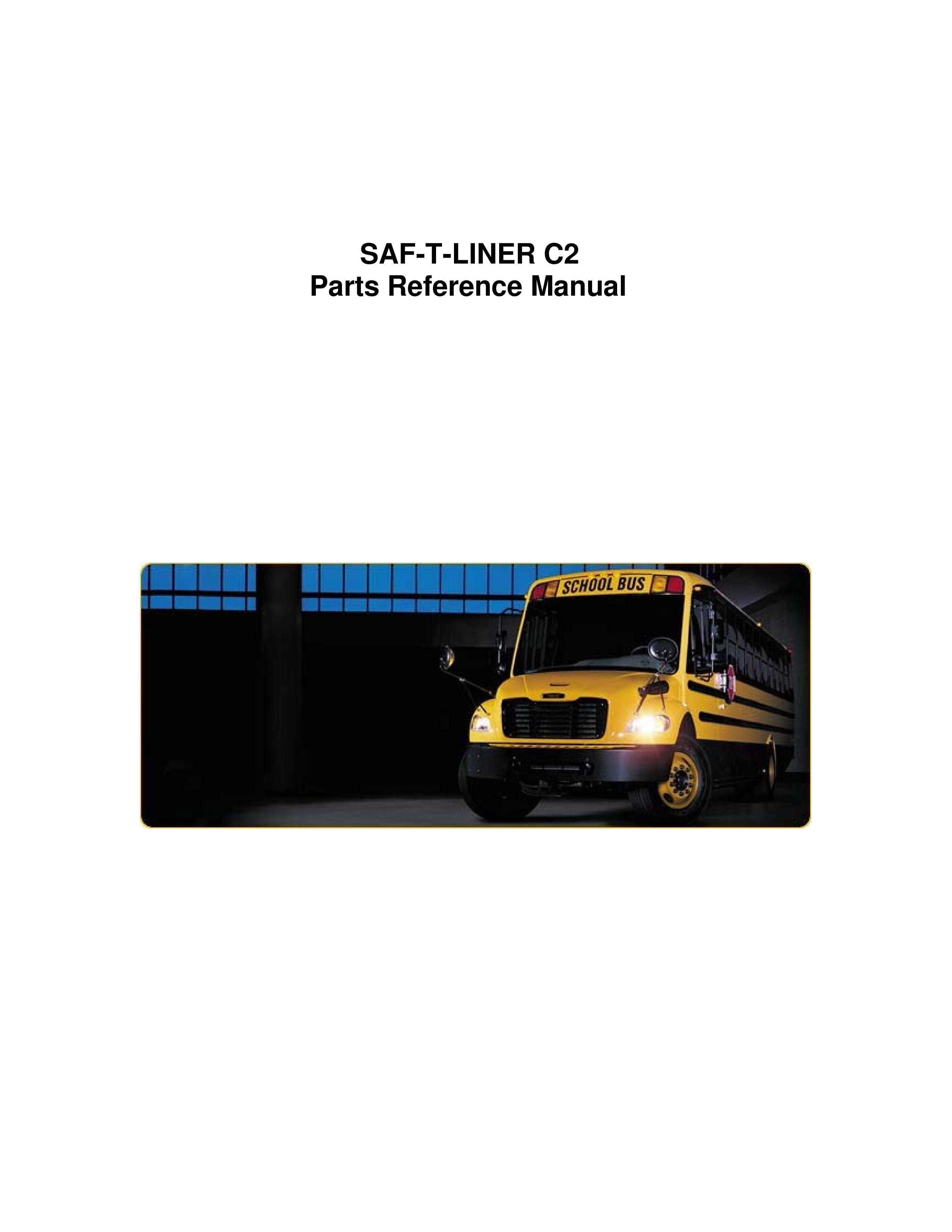 Exterior & Interior: School Bus Parts Manual - Thomas School