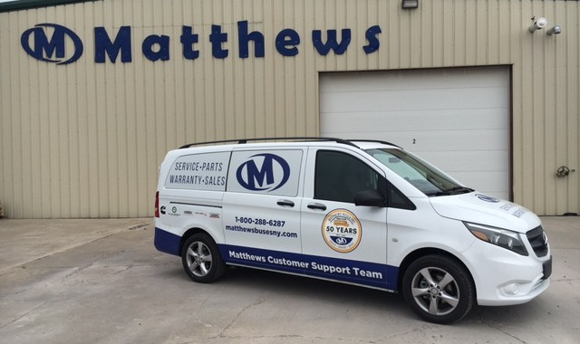 Matthews Buses Expands Its Customer Service Fleet