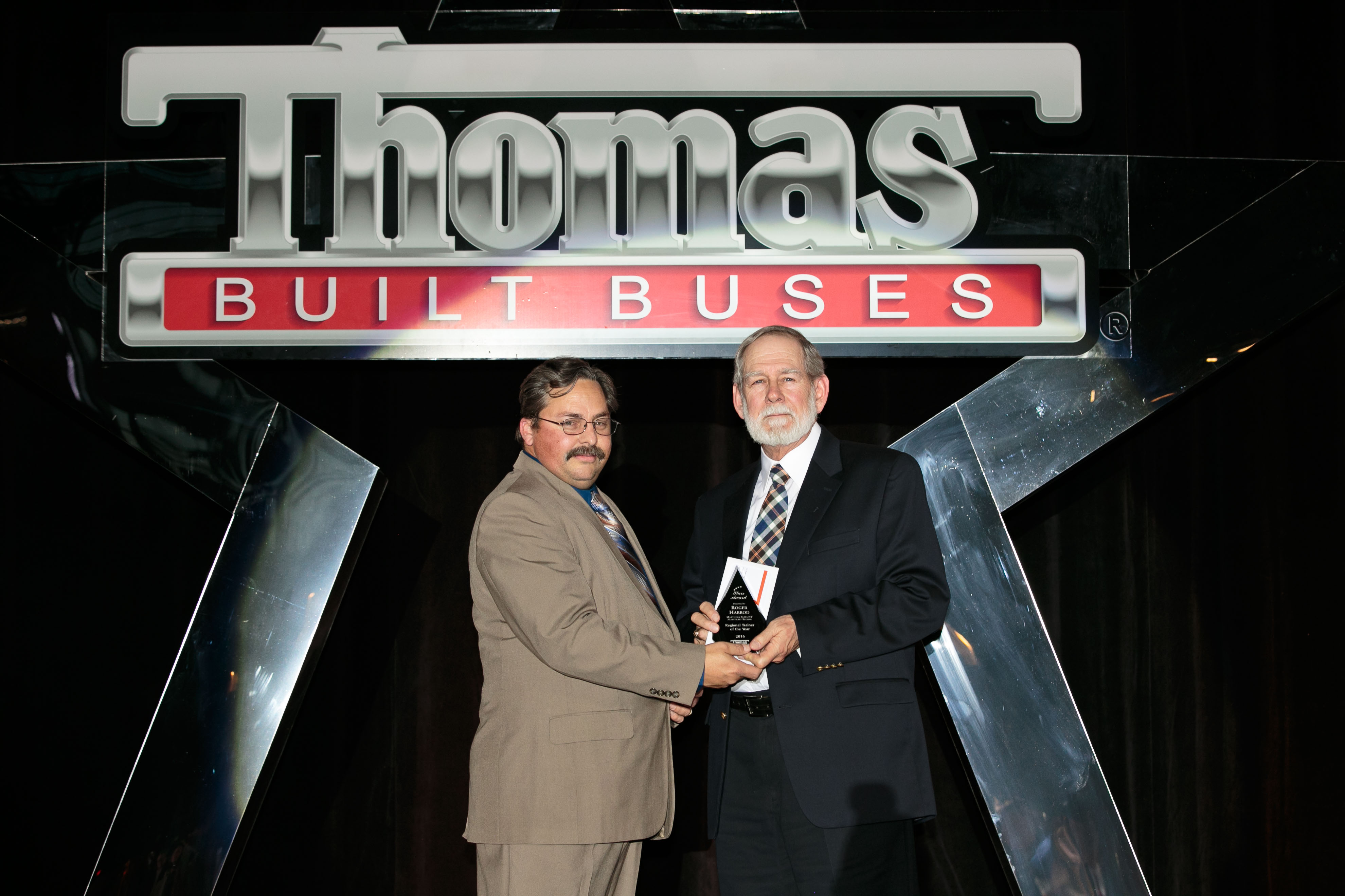 Roger Harrod Named Northeast Region Trainer of the Year by Thomas Built Buses