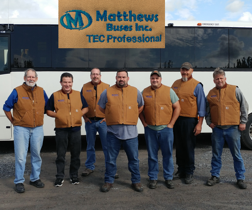 Completion of our first Thomas Built Bus – TEC Professional Training program