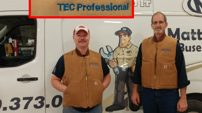 Completion of our second Thomas Built Bus – TEC Professional Training program