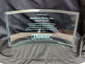 thomas dealer meeting award