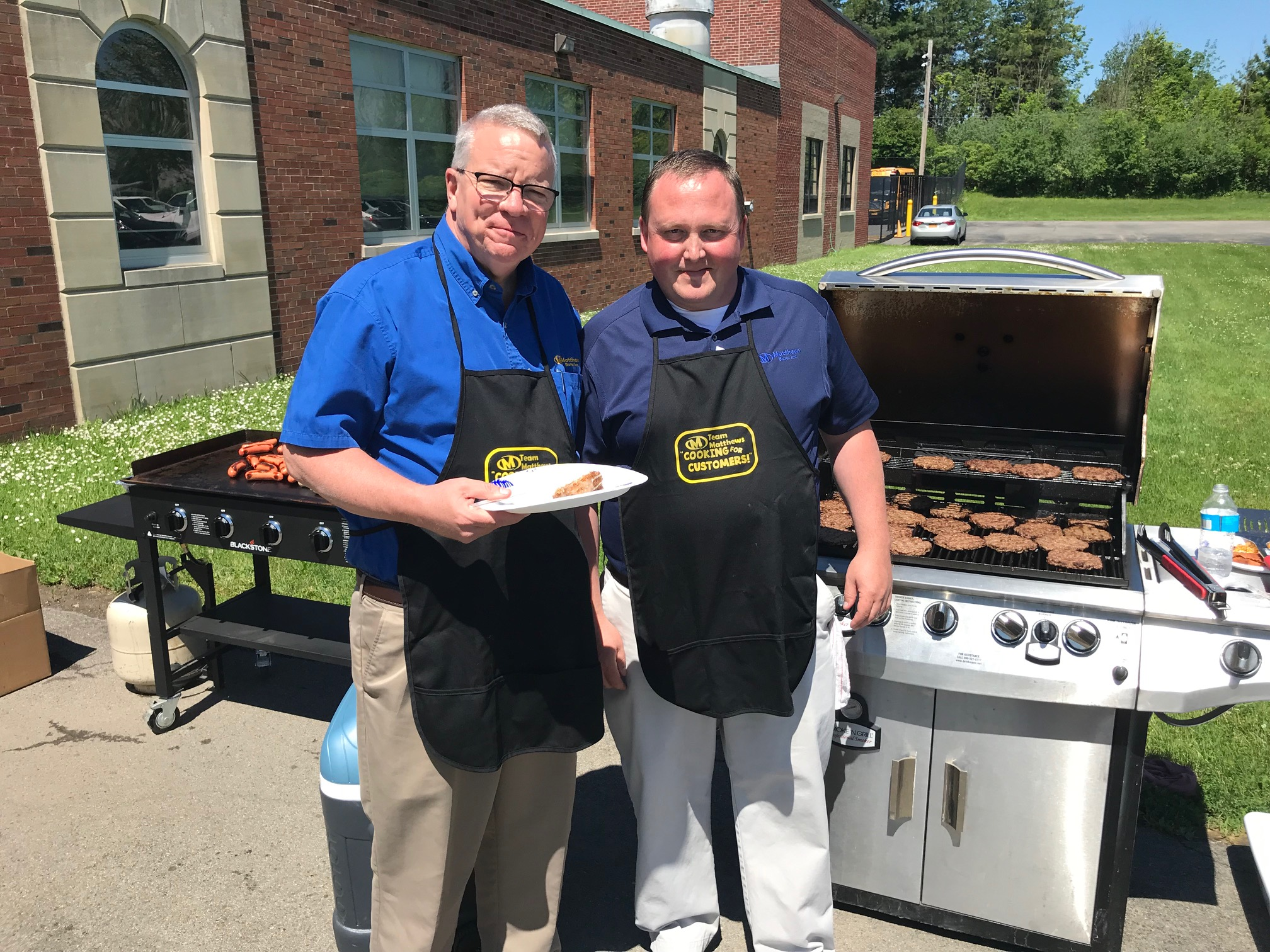 Matthews Buses Hosted Spring Cookout