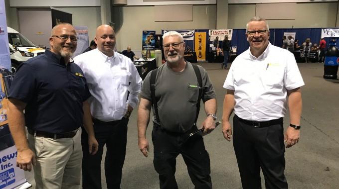 Matthews Buses Hosts Third Annual Tech Training Event and Attends Head Mechanics Trade Show