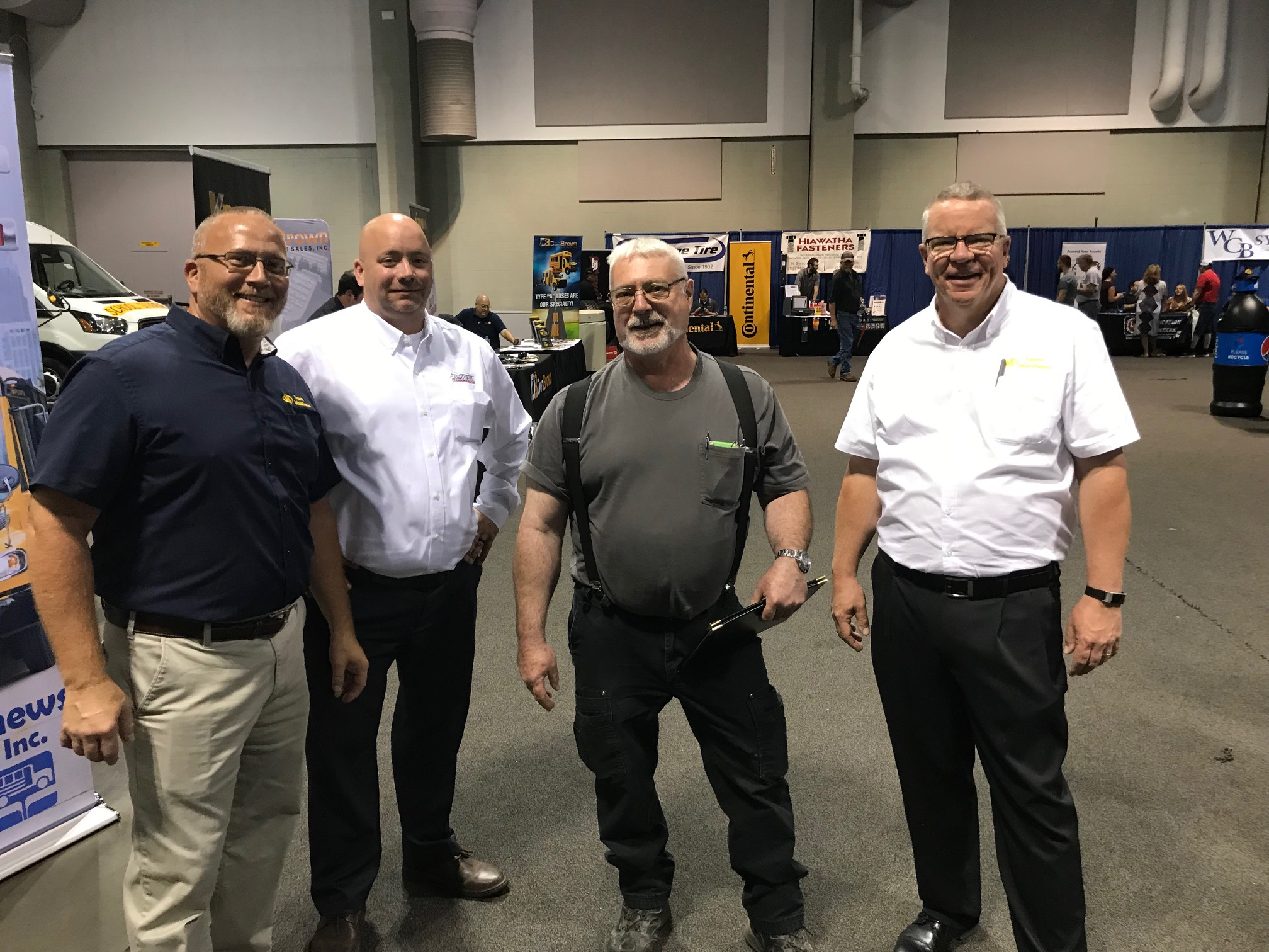 Matthews Buses Hosts Third Annual Tech Training Event and Attends Head Mechanics Trade Show