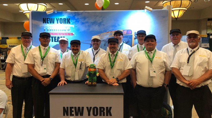 The New York Thomas Teams Represents at the 2019 NYAPT Show