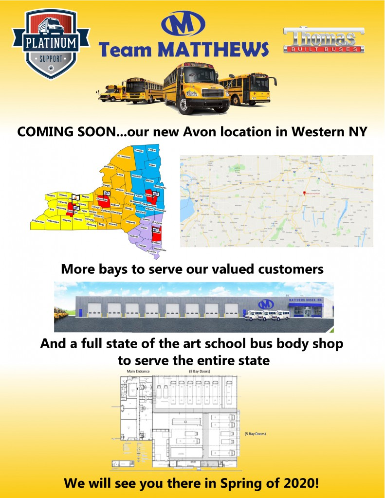 Avon location coming soon flyer