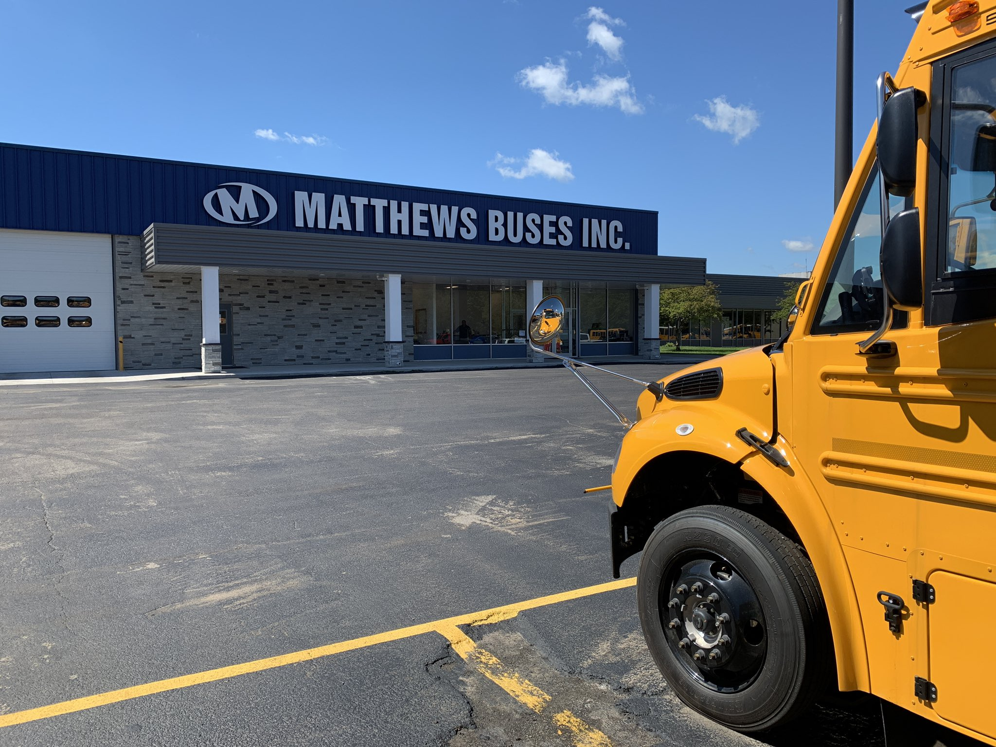 Matthews Buses in Avon Makes Sure WNY School Buses Keep Running